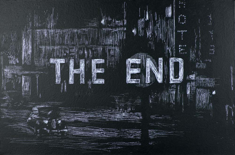 The End #8 Painting by Nicolas Ruston